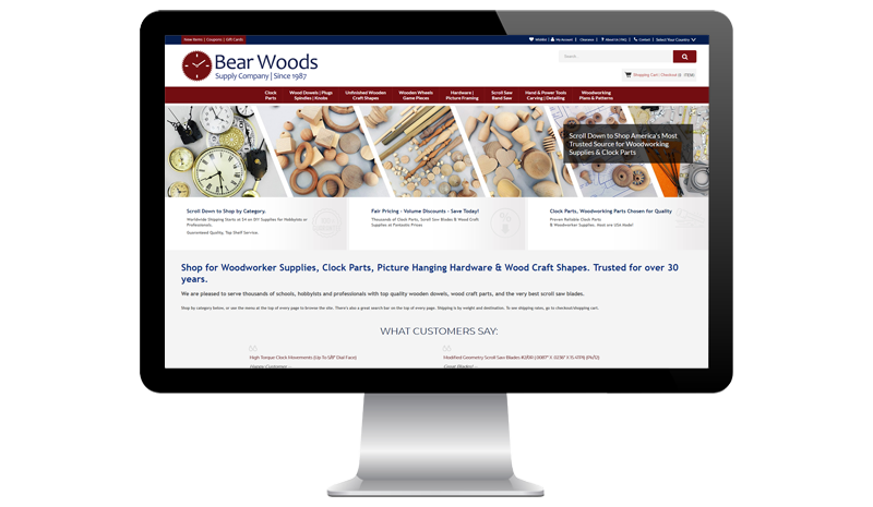 Bear Woods Supply Company Before